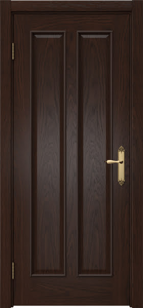 Межкомнатная дверь SK008 (шпон дуб коньяк / глухая)