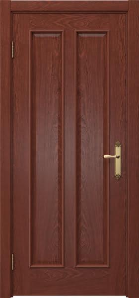 Межкомнатная дверь SK008 (шпон красное дерево / глухая)