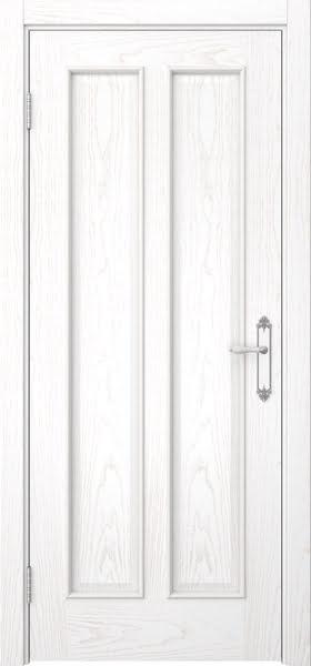Межкомнатная дверь SK008 (шпон ясень белый / глухая)