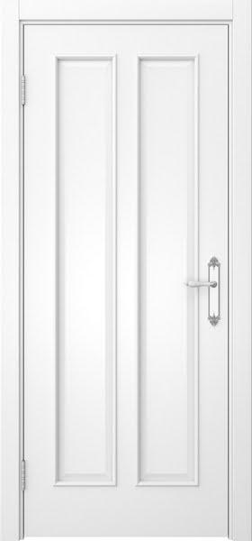 Межкомнатная дверь SK008 (белая эмаль / глухая)