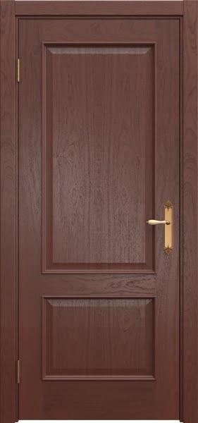 Межкомнатная дверь SK011 (шпон красное дерево / глухая)