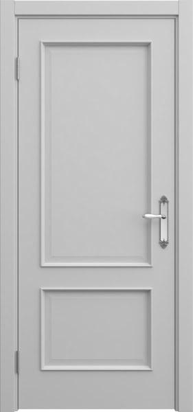 Межкомнатная дверь SK011 (эмаль серая / глухая)