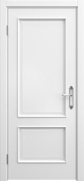 Межкомнатная дверь SK011 (эмаль белая / глухая)