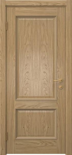 Межкомнатная дверь SK014 (натуральный шпон дуба / глухая)