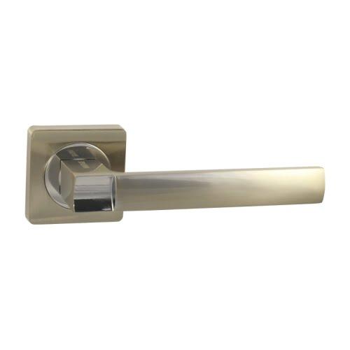 Ручка дверная V02D (ЦАМ, матовый никель)