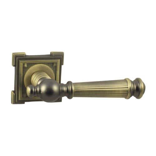 Ручка дверная V15M (ЦАМ, матовая бронза)