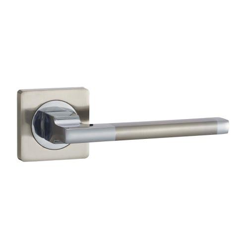 Ручка дверная V53D-AL (алюминий, матовый никель)