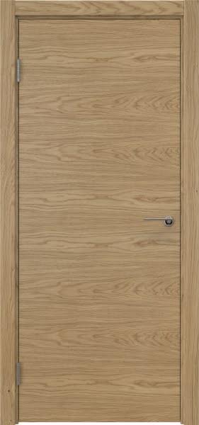 Межкомнатная дверь ZK001 (натуральный шпон дуба, глухая)