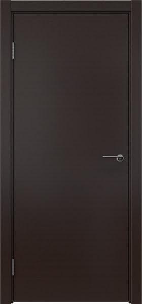Межкомнатная дверь ZK001 (шпон венге, глухая)