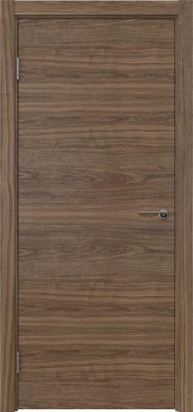 Межкомнатная дверь ZK001 (шпон американский орех / глухая)