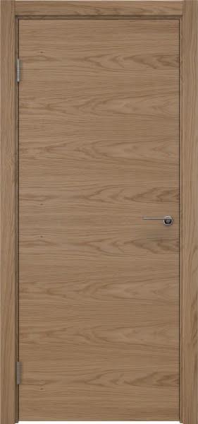 Межкомнатная дверь ZK001 (шпон дуб светлый / глухая)