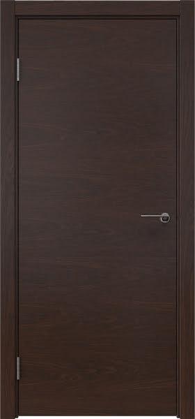Межкомнатная дверь ZK001 (шпон дуб коньяк, глухая)