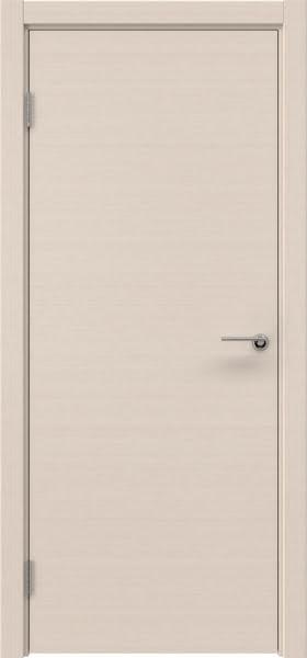 Межкомнатная дверь ZK001 (шпон беленый дуб, глухая)