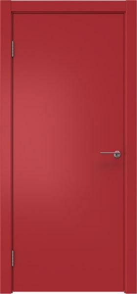 Межкомнатная дверь ZK001 (эмаль RAL 3001, глухая)