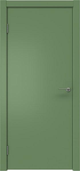 Межкомнатная дверь ZK001 (эмаль RAL 6011, глухая)