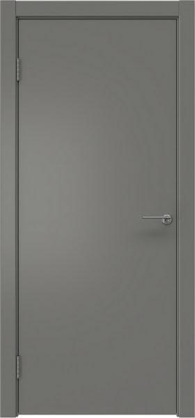 Межкомнатная дверь ZK001 (эмаль серая, глухая)
