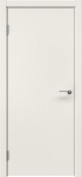 Межкомнатная дверь ZK001 (эмаль слоновая кость, глухая)