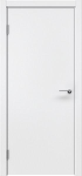 Межкомнатная дверь ZK001 (эмаль белая, глухая)
