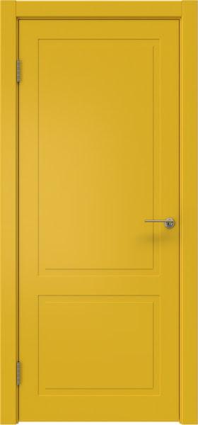 Межкомнатная дверь ZK002 (эмаль RAL 1032, глухая)