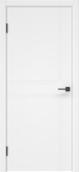 Межкомнатная дверь ZK008 (эмаль белая, глухая)