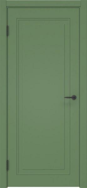 Межкомнатная дверь ZK009 (эмаль RAL 6011, глухая)
