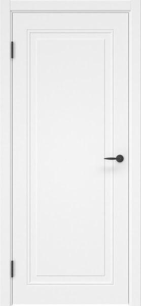Межкомнатная дверь ZK009 (эмаль белая, глухая)