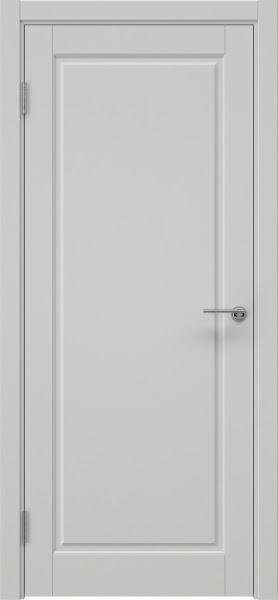 Межкомнатная дверь ZK010 (эмаль светло-серая, глухая)