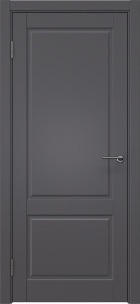 Межкомнатная дверь ZK011 (эмаль графит, глухая)