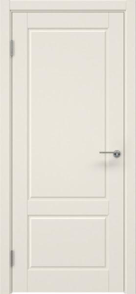 Межкомнатная дверь ZK014 (эмаль слоновая кость, глухая)