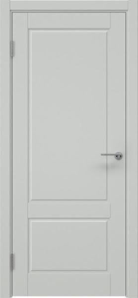 Межкомнатная дверь ZK014 (эмаль светло-серая, глухая)