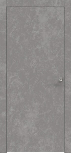 Межкомнатная дверь ZM001 (экошпон «бетон» / глухая)