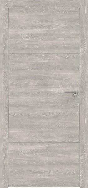 Межкомнатная дверь ZM002 (экошпон «серый дуб патина» / глухая)