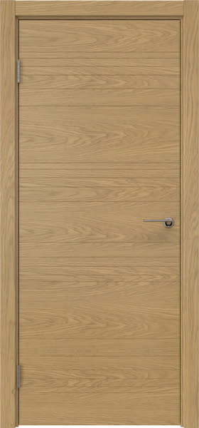 Межкомнатная дверь ZM013 (шпон дуб, глухая)