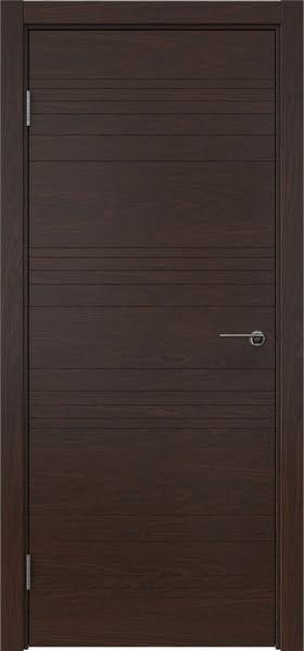 Межкомнатная дверь ZM013 (шпон дуб коньяк, глухая)