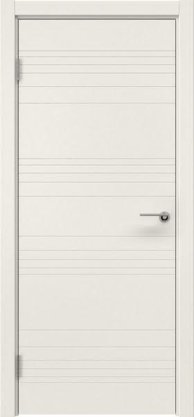 Межкомнатная дверь ZM013 (эмаль слоновая кость, глухая)