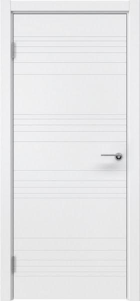 Межкомнатная дверь ZM013 (эмаль белая, глухая)