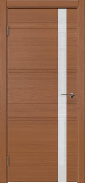 Межкомнатная дверь ZM014 (шпон анерги / лакобель белый)