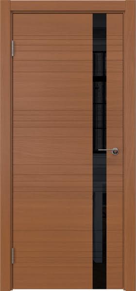 Межкомнатная дверь ZM014 (шпон анерги / лакобель черный)