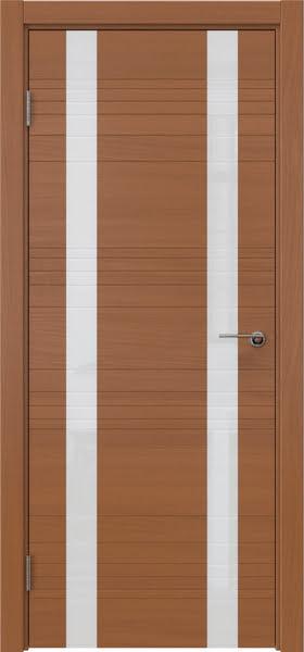 Межкомнатная дверь ZM015 (шпон анерги / лакобель белый)