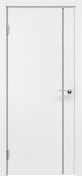 Межкомнатная дверь ZM016 (эмаль белая / триплекс белый)