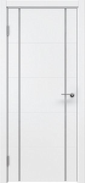 Межкомнатная дверь ZM020 (эмаль белая / триплекс белый)