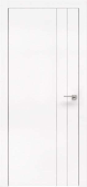 Межкомнатная дверь ZM023 (экошпон белый / глухая)