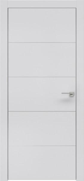 Межкомнатная дверь ZM025 (экошпон светло-серый / глухая)
