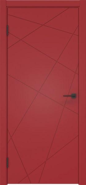Межкомнатная дверь ZM031 (эмаль RAL 3001, глухая)