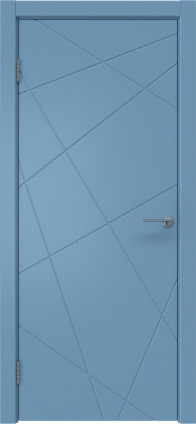 Межкомнатная дверь ZM031 (эмаль RAL 5024, глухая)