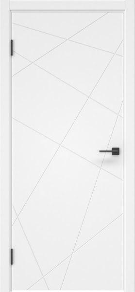 Межкомнатная дверь ZM031 (эмаль белая, глухая)
