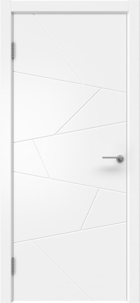 Межкомнатная дверь ZM032 (эмаль белая, глухая)