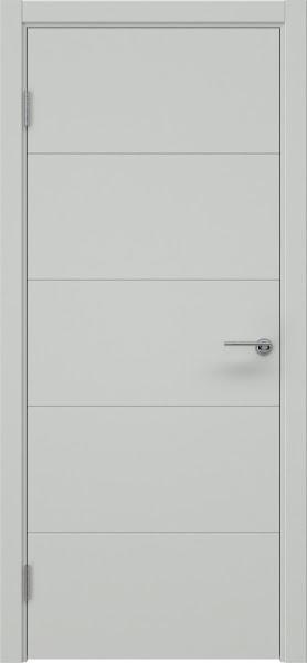 Межкомнатная дверь ZM033 (эмаль светло-серая, глухая)