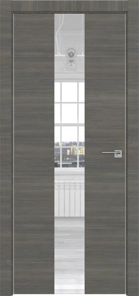 Межкомнатная дверь ZM035 (экошпон ольха, зеркало)