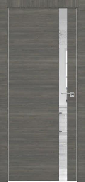 Межкомнатная дверь ZM038 (экошпон ольха, зеркало)